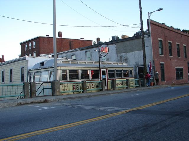 A-1 Diner in Gardiner, ME