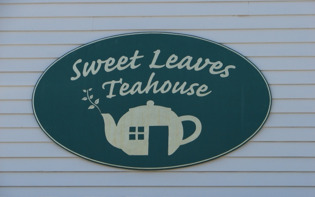 Sweet Leaves Teahouse in Brunswick, Maine