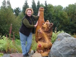"Me & the Bear Creek Winery ""bear"""
