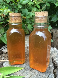 Two jars of local, homemade honey (wildflower & sourwood varieties)