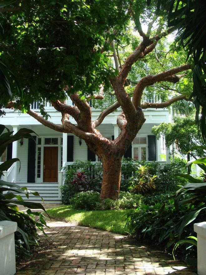 Porch of Florida house